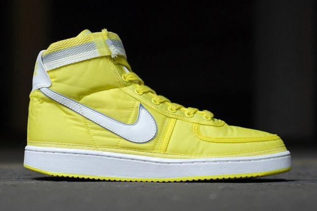 Nike Vandal Supreme Yellow Profile 1