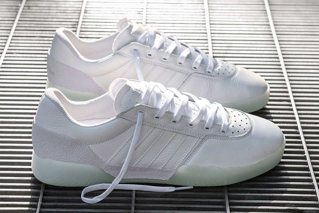 Adidas Skateboarding City Cup Running White Sneaker Freaker 1