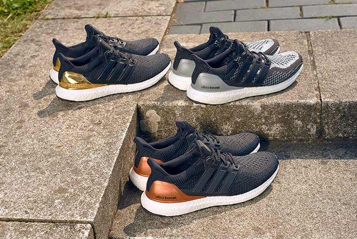 Adidas Ultra Boost Metallic Pack5