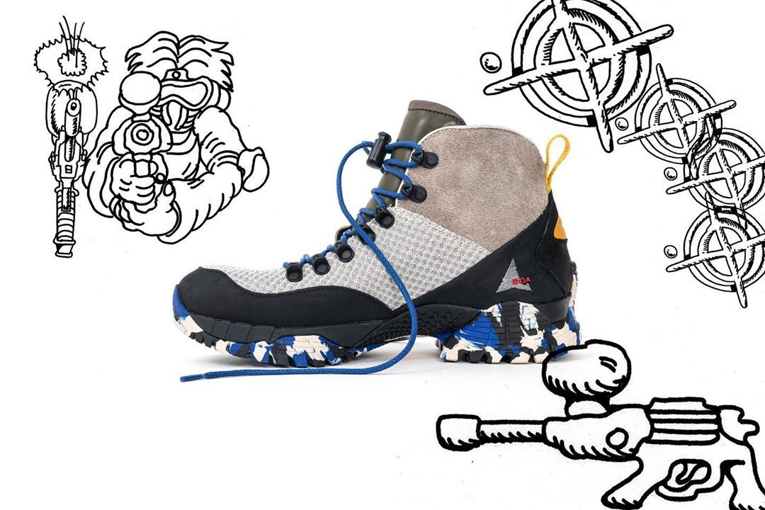 Brain Dead x ROA Hiking Boot