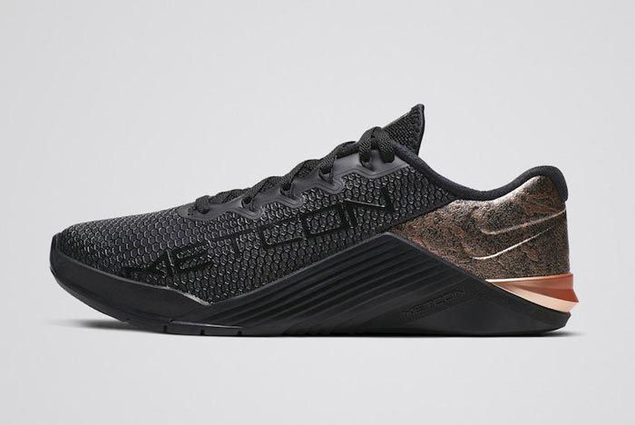 Nike Metcon 5 Medal Strong Pack Rose Gold Womens Lateral