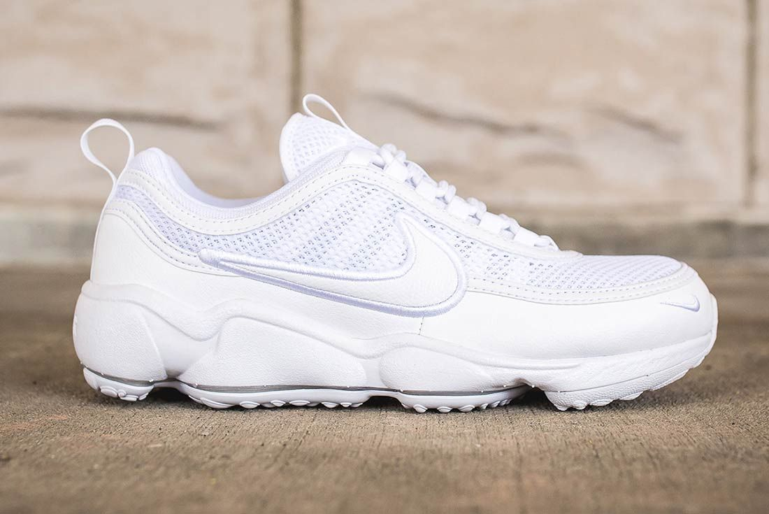 Nike Air Zoom Spiridon Ultra Triple White 1
