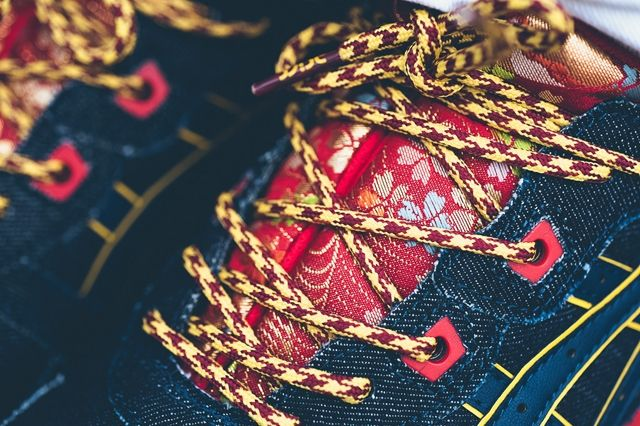 Asics Gel Lyte Iii Kimono Navy 2