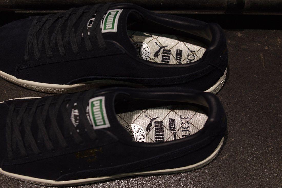 Cluct X Mita Sneakers X Puma Clyde Indigo 2