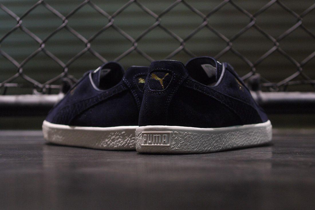 Cluct X Mita Sneakers X Puma Clyde Indigo 4