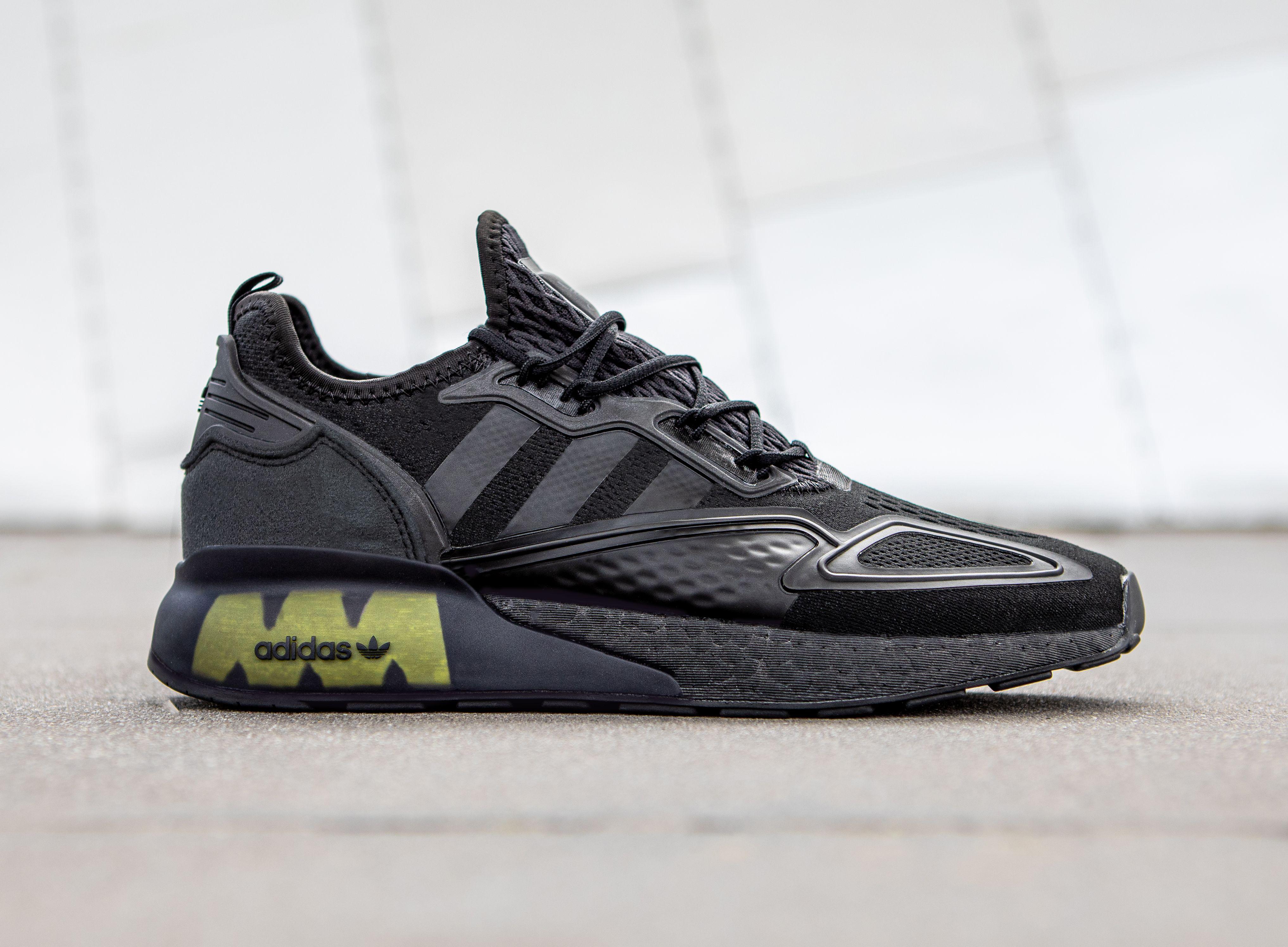 adidas ZX 2K BOOST (Black/Solar Yellow)
