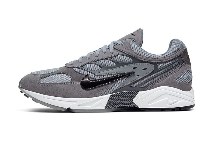 Nike Air Ghost Racer Cool Grey At5410 003 Lateral