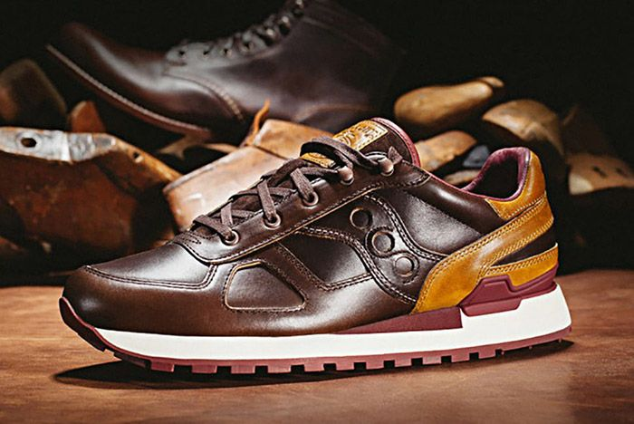 Wolverine Saucony Shadow Original Horween Leather 1