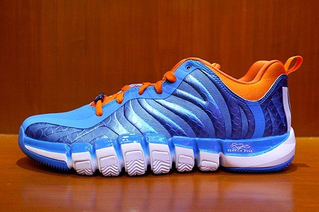 Adidas D Rose Englewood 2 Blue Orange Thumb