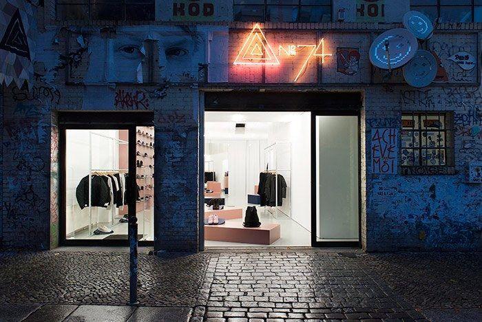 Adidas No74 Store Berlin 2