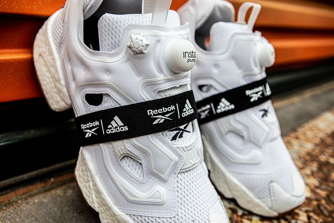 Reebok Adidas Instapump Fury Boost Black And White Pack Exclusive Sneaker Freaker Shot3