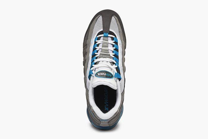 Nike Air Vapormax 95 Aj7292 002 Black Neo Turq Medium Ash 4