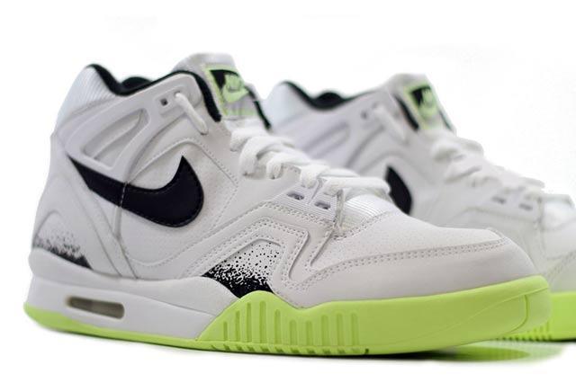 Nike Air Tech Challenge Ii White Black Lime 4