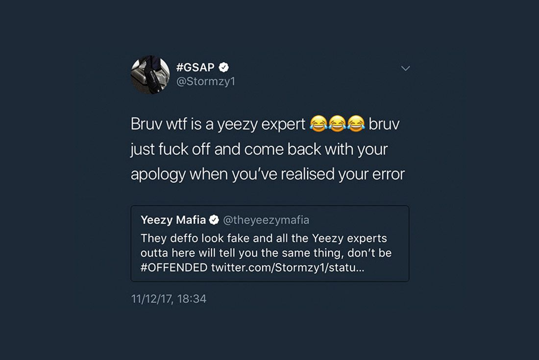 Yeezy Mafia Interview Stormzy Reply Tweet