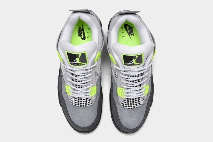 Air Jordan4 Neon Top