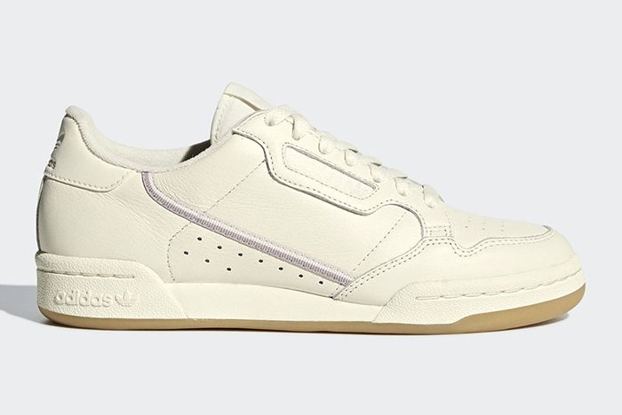 Adidas Continental 80 Off White Orchid Tint 1