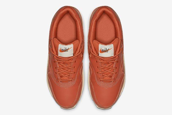 Nike Air Max 1 Premium Brown Embroidered Top