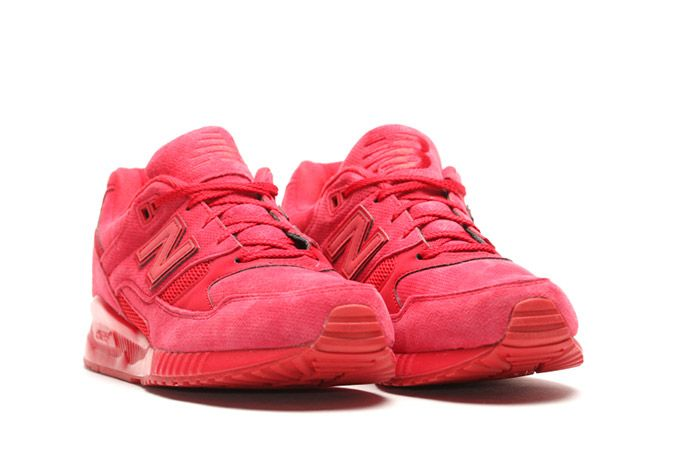 New Balance 530 Red Suede 5