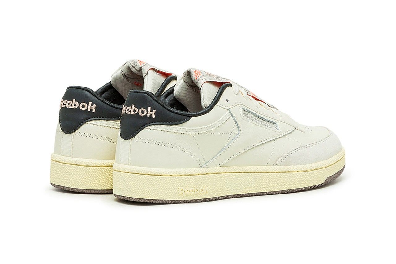 reebok club c 85 year of the ox on white