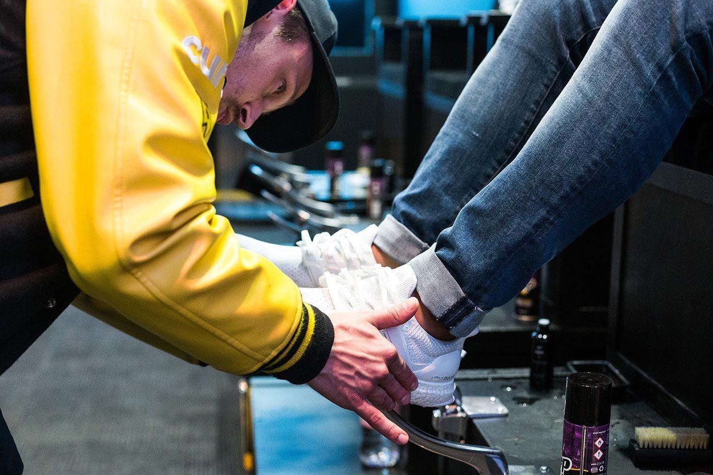 Sneakerness Event Recap Sneaker Cleaning