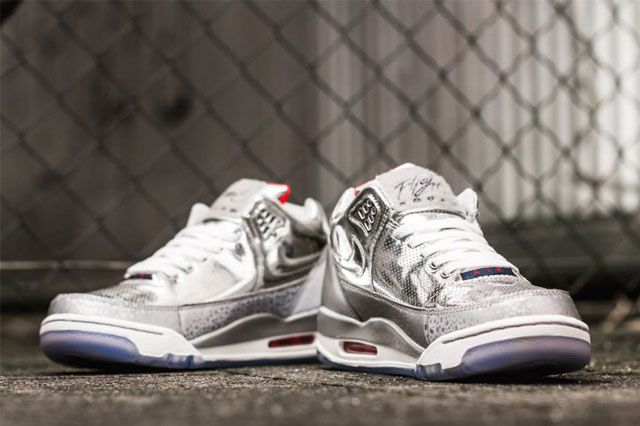 Nike Air Flight Squad Metallic Silver 4