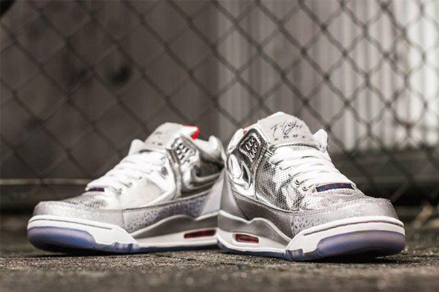 Nike Air Flight Squad Metallic Silver 4