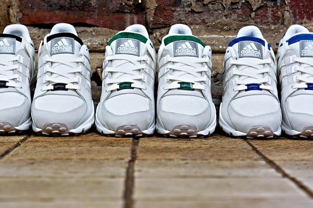 Adidas Originals Eqt Running Support 93 White Pack 2