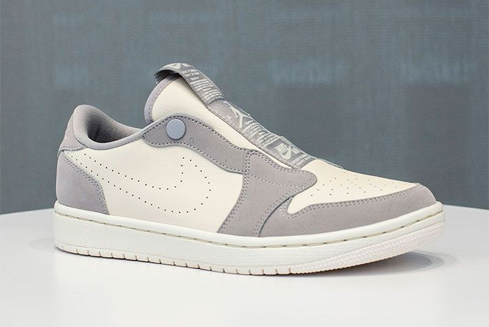 Jordan 1 Low Slip Grey 1 Side