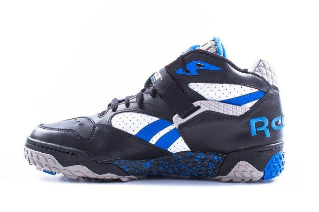 Reebok Pump Paydirt Mid Black Blue 5