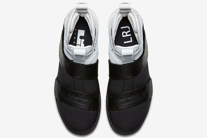 Nike Lebron Zoom Soldier 10 Pinnacle Black White 3