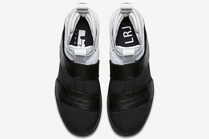 Nike Lebron Zoom Soldier 10 Pinnacle Black White 3
