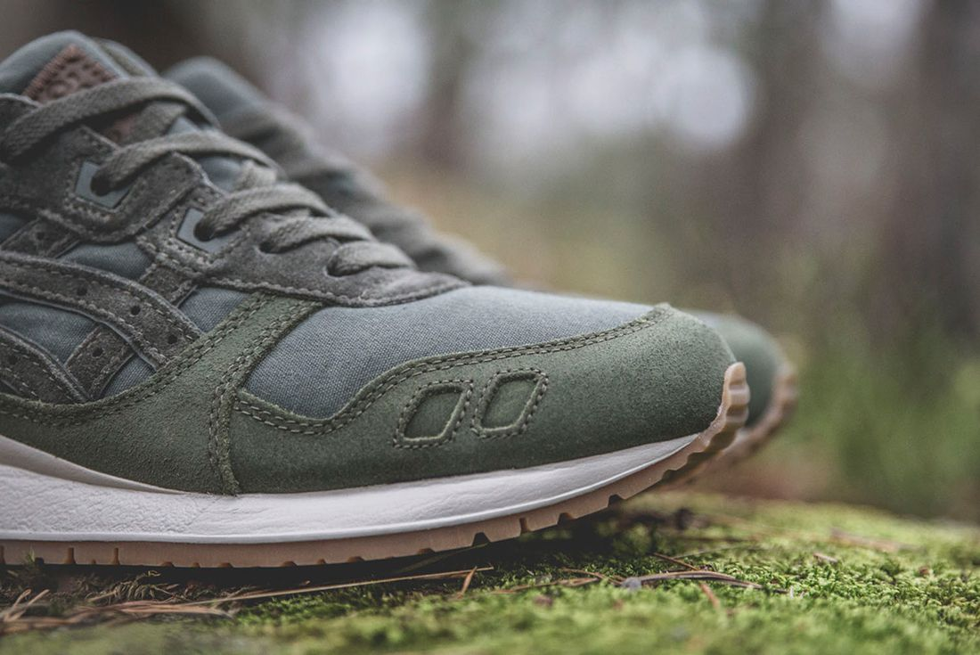 Sneakersnstuff X Asics Forest Pack12