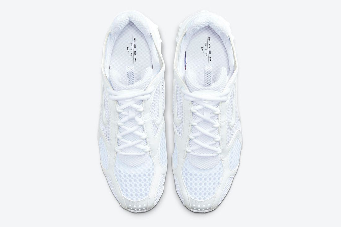Nike Air Zoom Spiridon Caged White Top