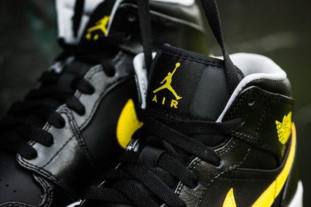 Air Jordan 1 Mid Vibrant Yellow 5