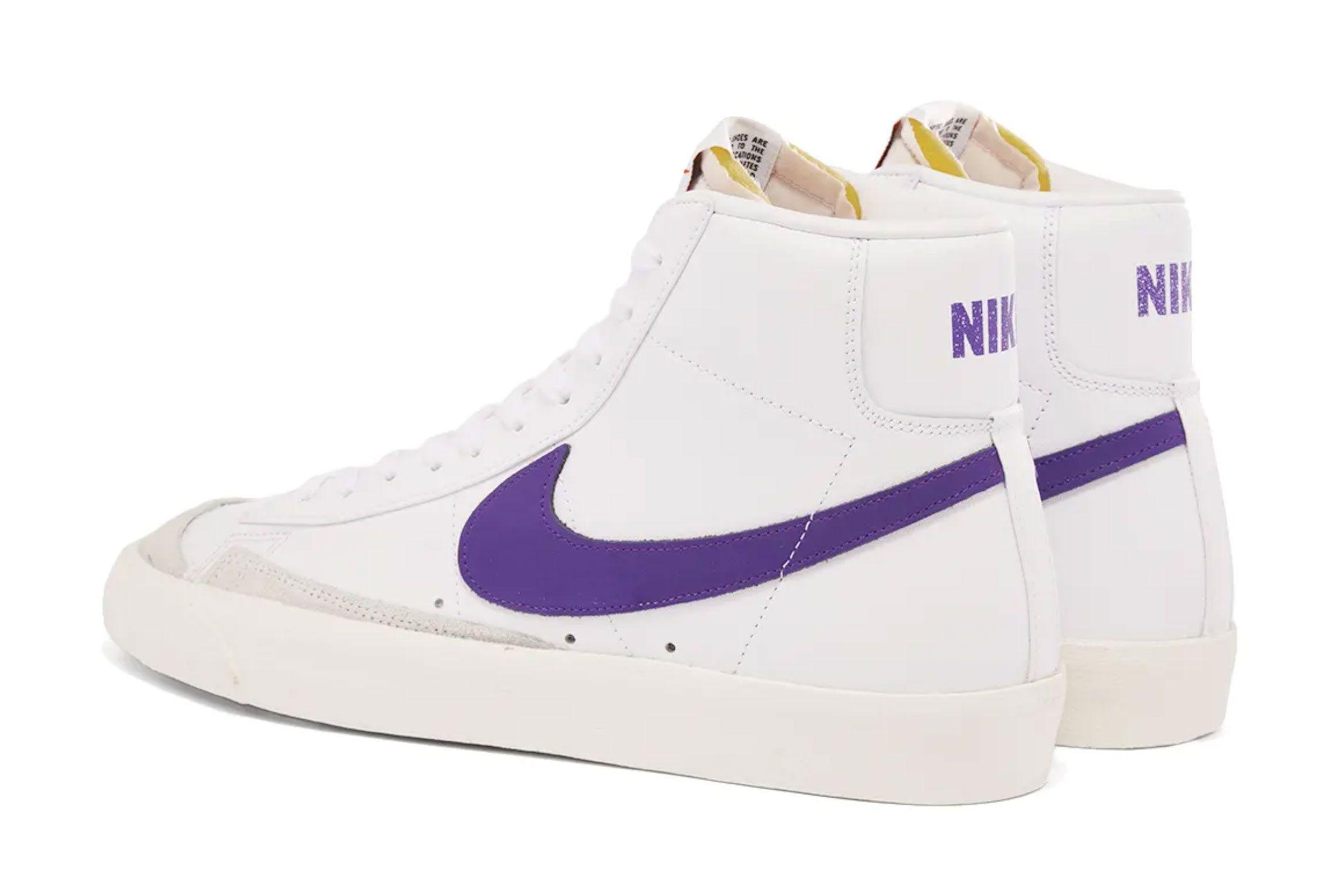 Nike Blazer Mid 77 (Voltage Purple)