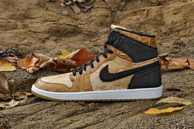 Jbf Customs Nike Air Jordan 1 Desert Storm 3