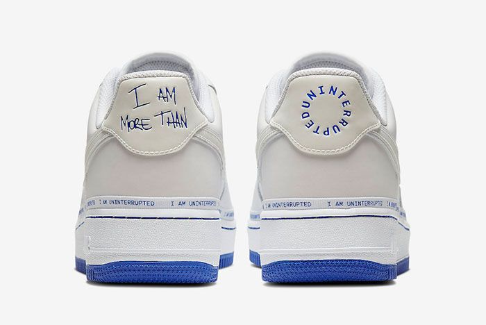 Uninterrupted Nike Air Force 1 More Than Cq0494 100 Release Date 3 Heel