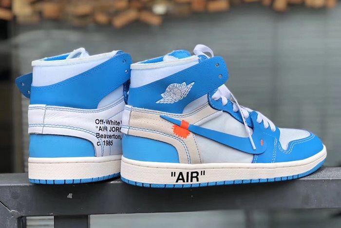Air Jordan 1 Unc Off White 1