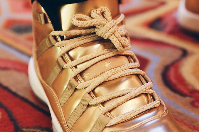 Air Jordan 11 Metallic Gold 2