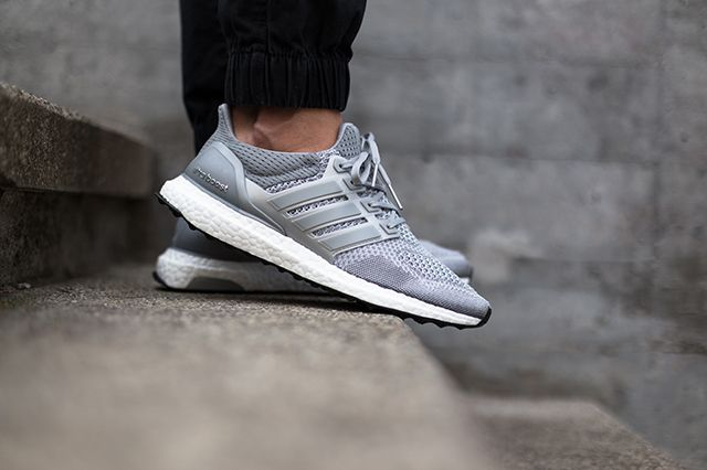 Adidas Ultra Boost Silver White
