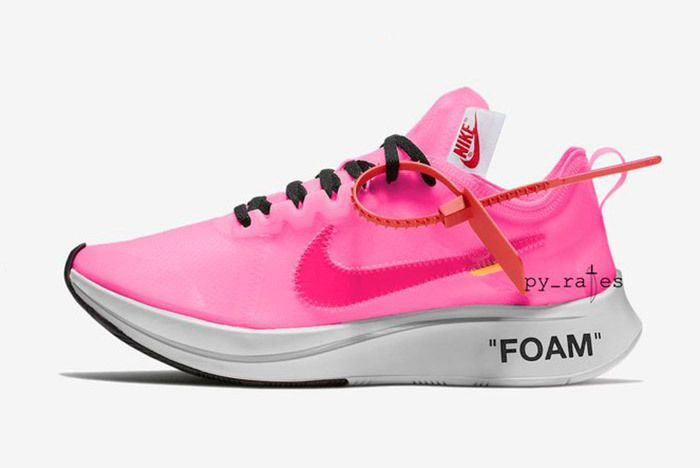 Off White X Nike Zoom Fly Racer Pink Tulip 4