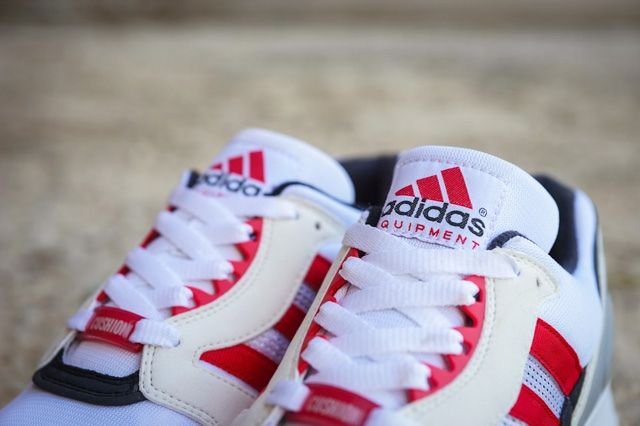 Adidas Eqt Running Cushion 92 White Red 5