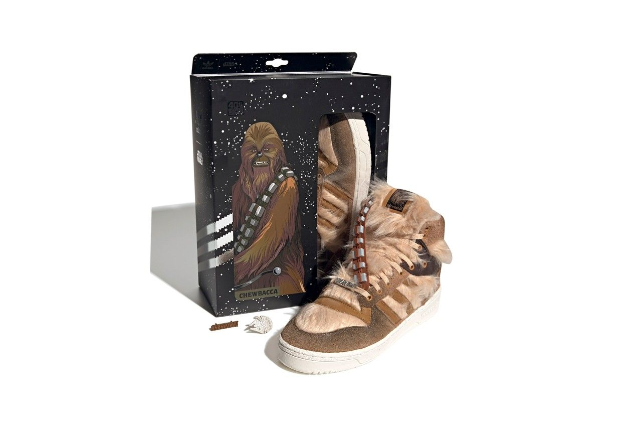 Star Wars x adidas Rivalry Hi 'Chewbacca'
