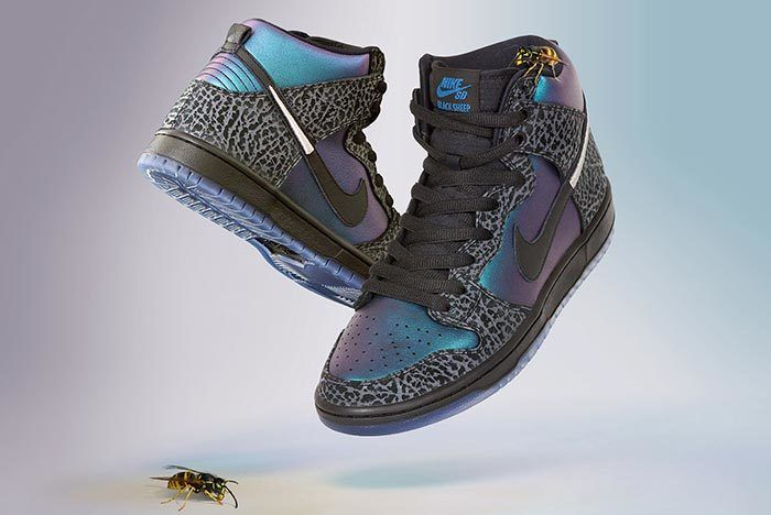 Black Sheep Nike Sb Dunk Black Hornet Angle Shot