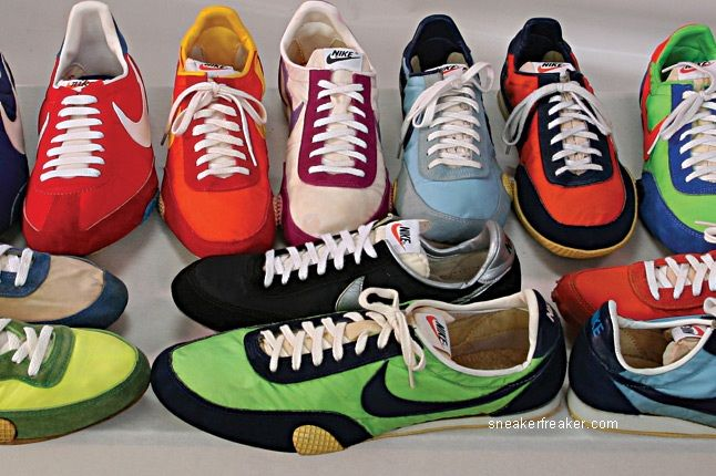 Vintage Collector Lindy Darrell Nike Runners 50