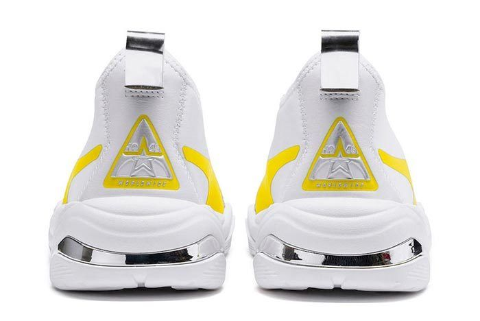 Puma Thunder Tz Metallic Blazing Yellow Heels