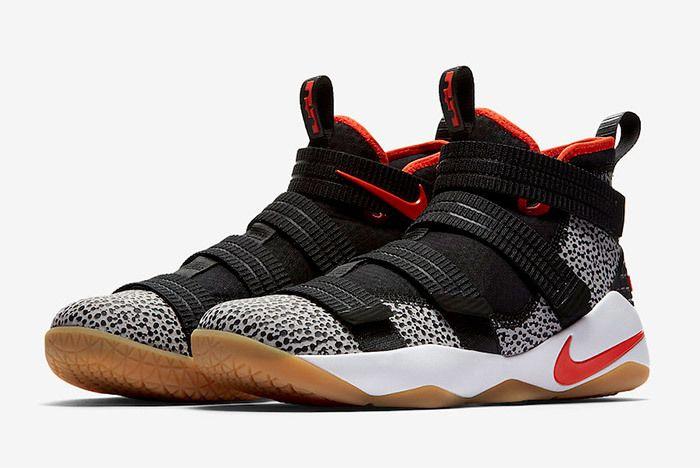 Nike Le Bron Soldier 11 Sfg Safari 897646 006 Sneaker Freaker 2