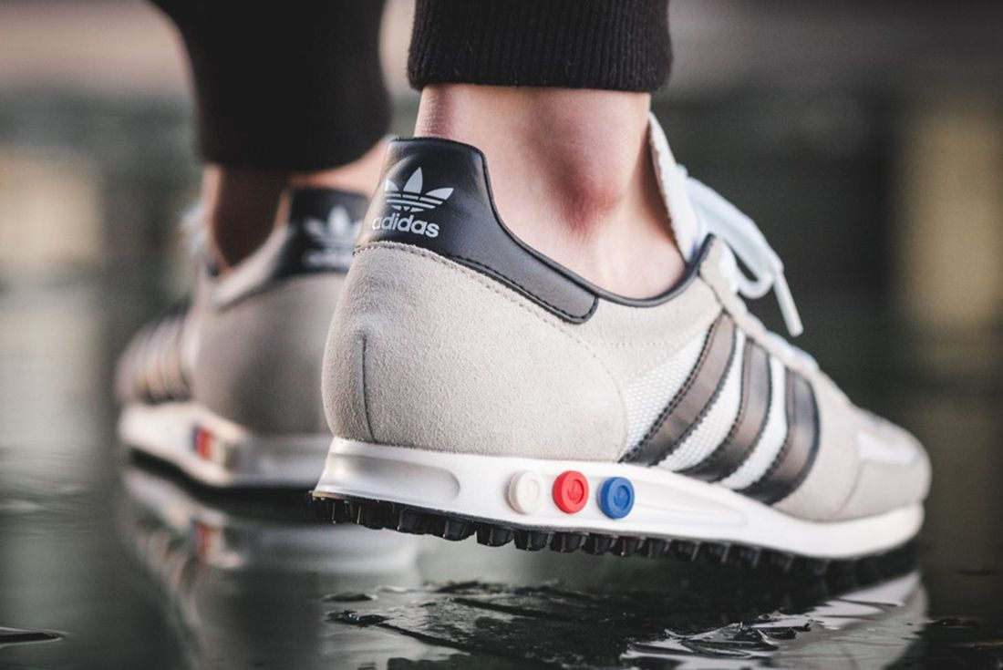 Adidas La Trainer Vintage White4