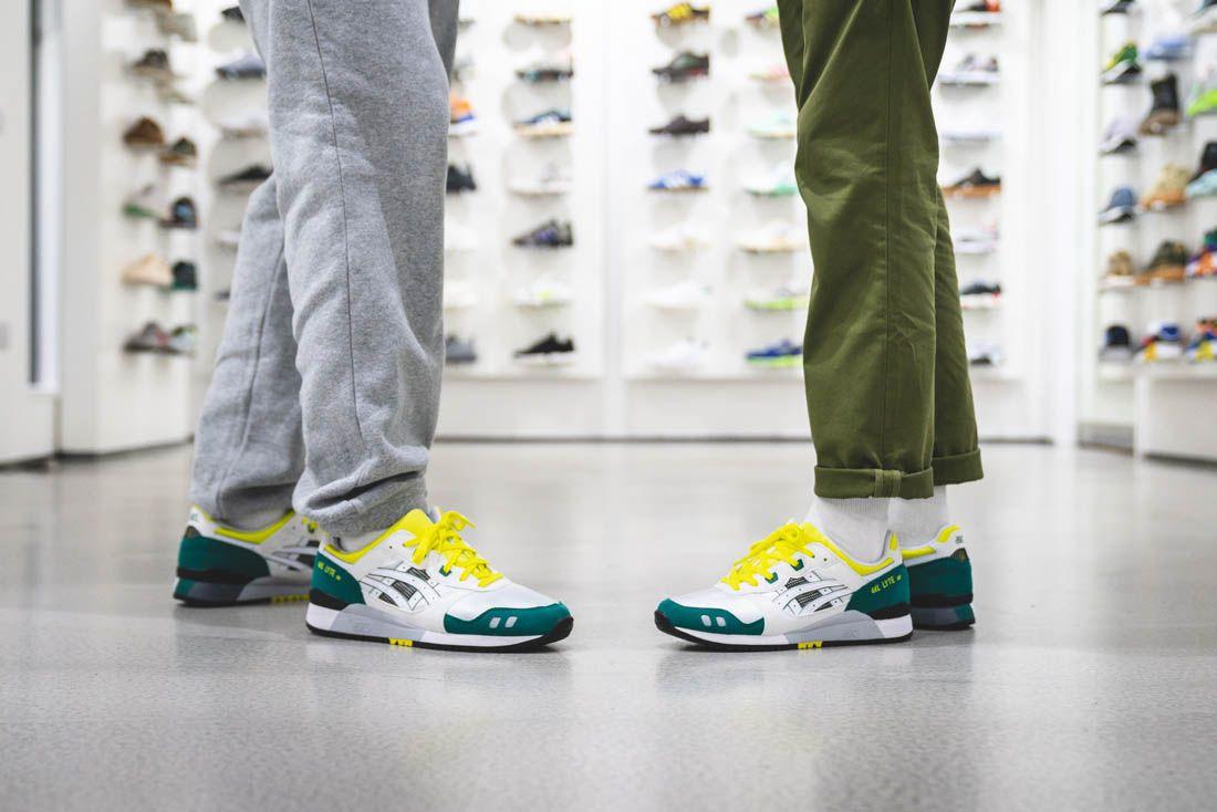 Asics Gel Lyte Iii Hanon Thomas Lindie Interview On Feet Weekes Lindie