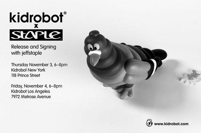 Kidrobot Jeff Staple Pigeon 5 1